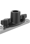 "RAM Dual T-Bolt Track Base for Spline Posts (T-Bolt Dimensions: .48"" x .95"")"