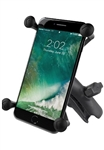 "COMPOSITE Standard Sized Length Arm with RAM-HOL-UN10BU Large X-Grip Phone Holder (Fits Device Width 1.75"" to 4.5"")"