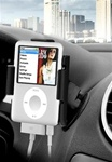 Universal 2.5 Inch Adhesive Flex Stick Base with RAM-HOL-AP5U Apple iPod Nano Holder (3rd Gen WITHOUT Case or Cover)