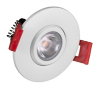 "NICOR DGD21120 2"" LED Gimbal Recessed Downlight"