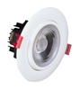 "NICOR DGD41120 4"" LED Gimbal Recessed Downlight"