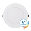 "NICOR DLE63120SRDWH 6"" Selectable Edge Lit LED Downlight"