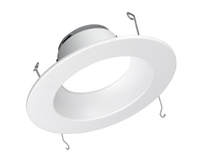 NICOR DLR56512 5-6 Inch 1200 Lumen Dimmable Recessed LED Downlight