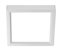 "NICOR DSE4 Square Edge Lit Surface Mount 4"" LED Downlight"