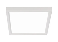 "NICOR DSE6 Square Edge Lit Surface Mount 6"" LED Downlight"