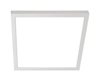 "NICOR DSE9 Square Edge Lit Surface Mount 9"" LED Downlight"