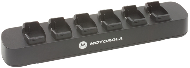 Motorola RLN6309 RD Series 6-Bank Charger