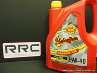 SCHAEFFER'S 15W40 RACING OIL