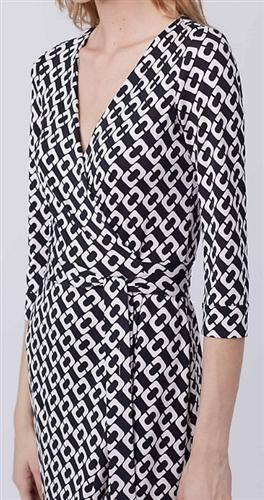 abb97ba20c95c Diane von Furstenberg New Julian Two Silk Wrap Dress