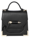 Mackage Rubie Structured Leather Shoulder Bag
