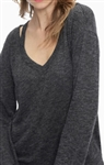 Splendid Ashbourne Knit V Cut Out Top