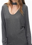Splendid Kenton Two Way Cutout Sweater