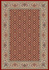 Dynamic rugs an212570111414 ancient garden rug, 2.2x11, red/ivory