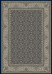 Dynamic rugs an212570113464 ancient garden rug, 2.2x11, navy