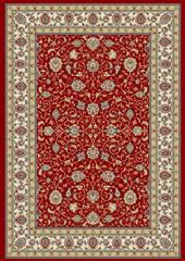 Dynamic rugs an212571201464 ancient garden rug, 2.2x11, red/ivory