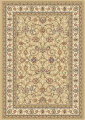 Dynamic rugs an212571202464 ancient garden rug, 2.2x11, lt gold/ivory