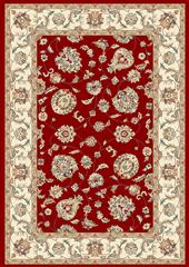 Dynamic rugs an212573651464 ancient garden rug, 2.2x11, red/ivory