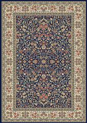 Dynamic rugs an24570783434 ancient garden rug, 2x3.11, blue/ivory