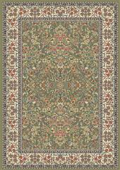 Dynamic rugs an24570784444 ancient garden rug, 2x3.11, green/ivory