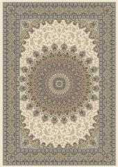 Dynamic rugs an28570906484 ancient garden rug, 2.2x7.7, ivory