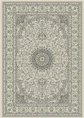 Dynamic rugs an69571199666 ancient garden rug, 5.3x7.7, soft grey/cream