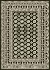 Dynamic rugs an912571023636 ancient garden rug, 7.10x11.2, charcoal/silver