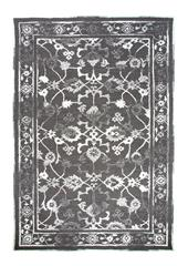 Dynamic rugs av6988802919 avalon rug, 5x8, charcoal/ivory