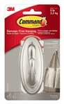3M Decorative Hook, Traditional, Large, 1 Hook & 2 Strips/Pack - Sold as 2 PKS