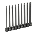 "Grey Pneumatic 1206T 3/8"" Drive 9 Pc. 6"" Length Internal Star Set"