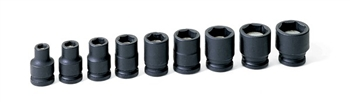 "3/8"" Drive 9 Pc. Magnetic Impact Socket Set"