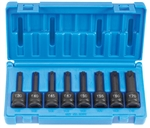 "Grey Pneumatic 1300T 1/2"" Drive 8 Piece Internal Star Impact Driver Set"