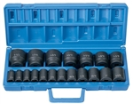 "1/2"" Drive 19 Pc. Standard Length Fract. Master Set"