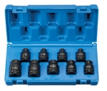 "Grey Pneumatic 1319ET 1/2"" Drive 9 Piece External Star Impact Socket Set"