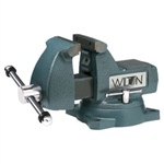 "Wilton Model 748A  8"" Mechanics Vise with Swivel Base"