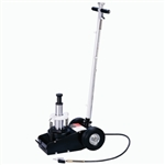 Omega 23227 22/35 Ton 2 Stage Air/Hyd Axle Jack