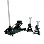 Omega 25032 3 Ton Magiclift Jack W/ 3 Ton Stands Combo
