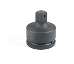"Grey Pneumatic 6008A 1-1/2"" Female x 1"" Male Adapter w/ Pin Hole"