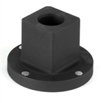 "Grey Pneumatic 6009RA 1-1/2"" F x 2-1/2"" M Reducing Sleeve Adapter"