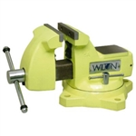 "Wilton 63187  5"" High Visibility Safety Vise with Swivel Base"