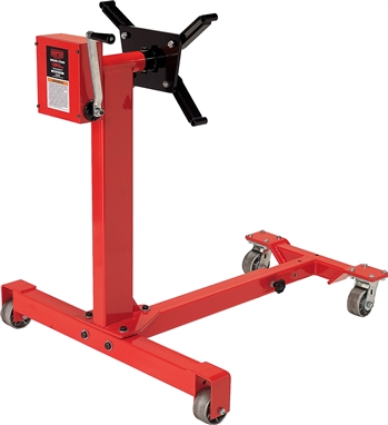 Norco 78125 1250 Lb Capacity Gear Driven Engine Stand