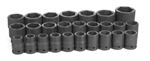 "3/4"" Dr. 26 Piece Metric Master Set 19-50mm"