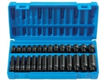 "1"" Dr. 20 Pc. Metric Set 45mm to 75mm"