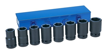 "1"" Drive 8 Piece Deep Metric Set"