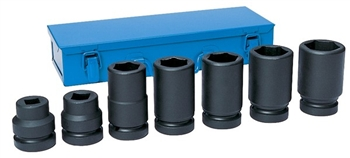 "1"" Drive 7 Piece Metric Truck Set"
