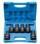 "1"" Drive 6 Piece Hex Driver Metric Set"