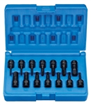 "1/4"" Drive 14 Pc. Impact Hex Driver Set."