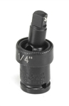 "Grey Pneumatic 929UJ 1/4"" x 1/4"" Universal Joint w/ Friction Ball"