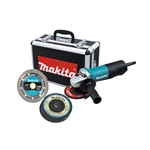 "Makita 4-1/2"" Grinder, 7.5 Amp with Aluminum Case"