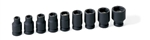 "1/4"" Drive 9 pc. Magnetic Impact Socket Set"
