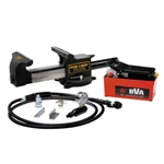BVA BV859A 5 Ton Hydraulic Vise with BVA Air Pump